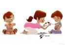 Чудові ілюстрації про дитинство Паскаль Кампьона